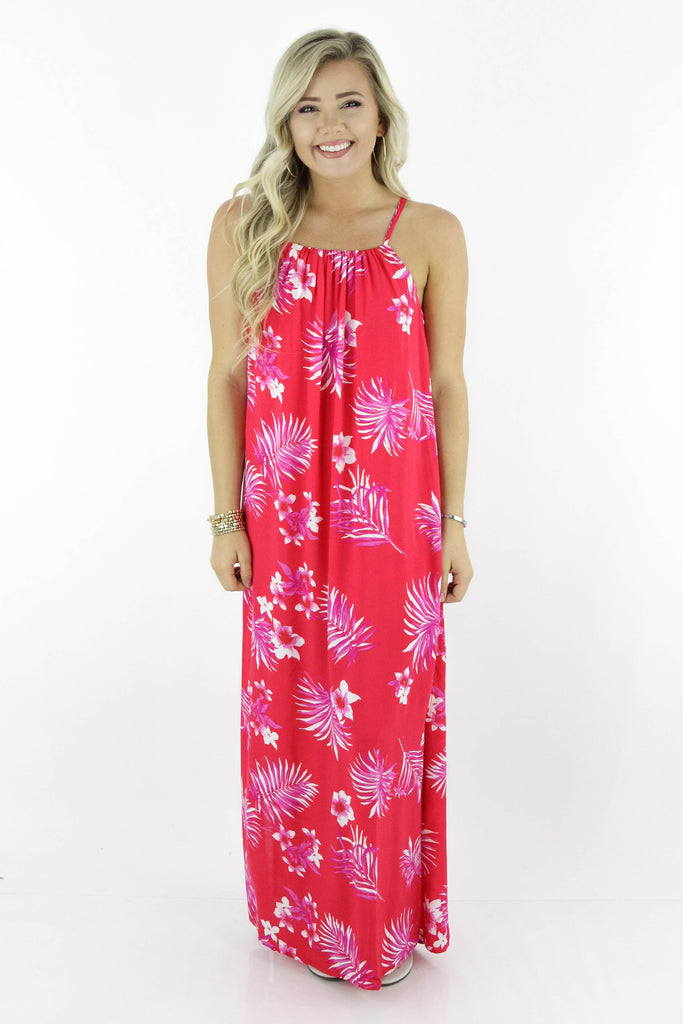 Make It Worth It All Floral Maxi Dress