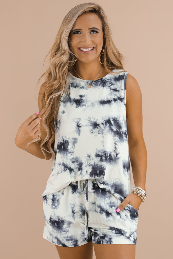 The Sky Is The Limit Tie Dye Top