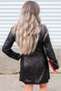 Poised Perfection Sequin Blazer Dress