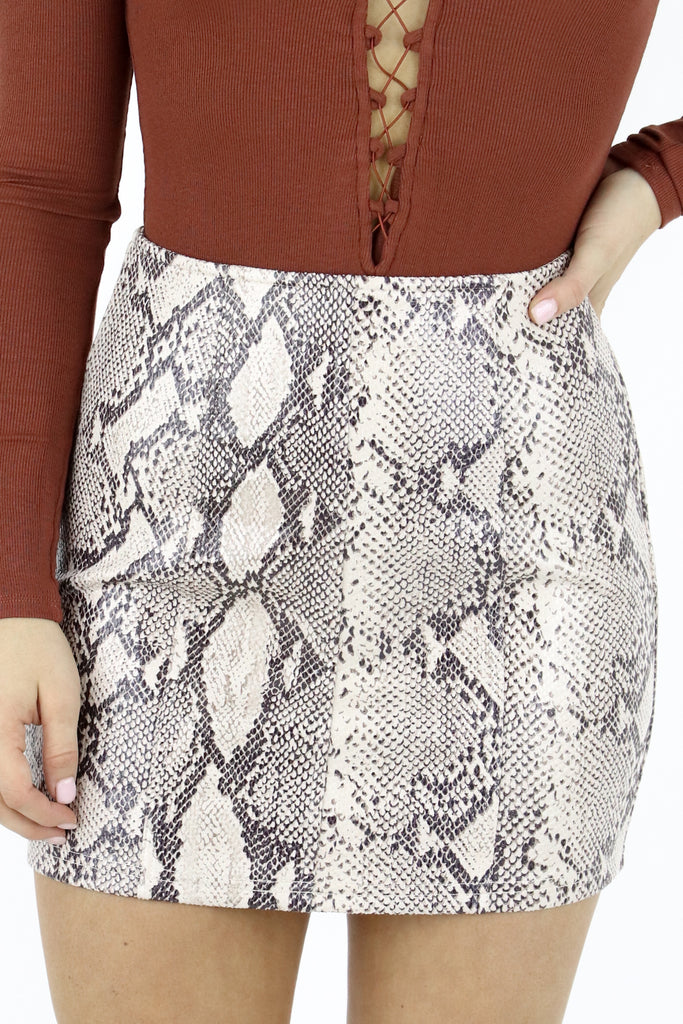 Held To High Standards Skirt