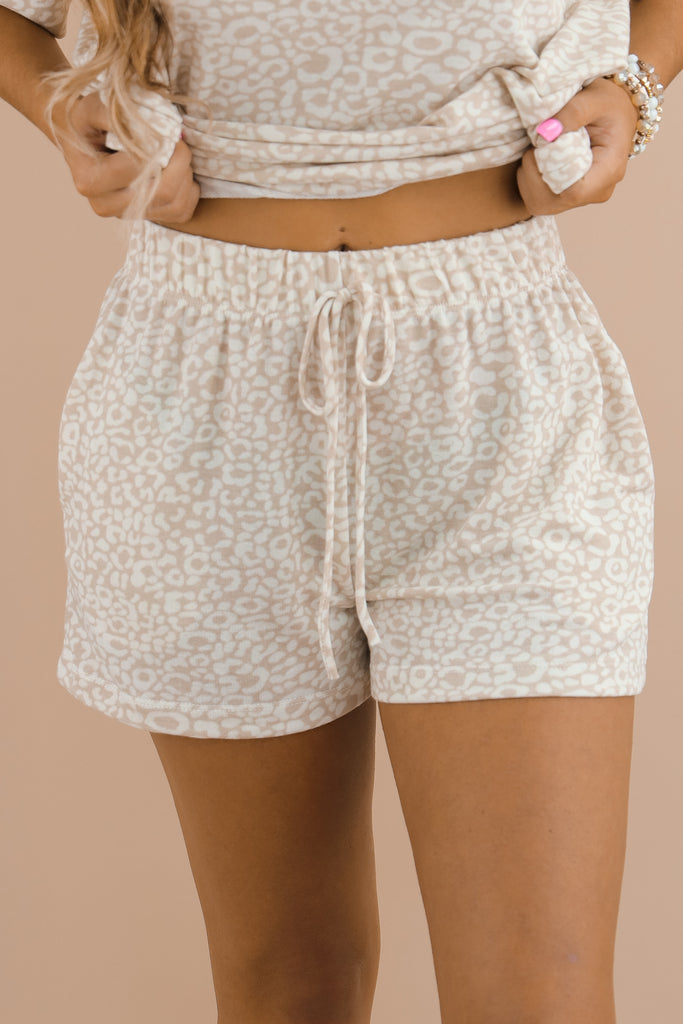 Never Go Unnoticed Printed Shorts