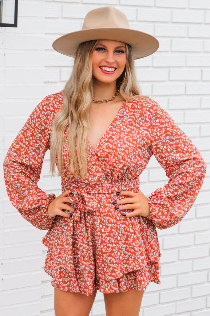 Let My Heart Run Wild Romper