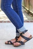 Inspired Birk Ankle Wrap Sandals