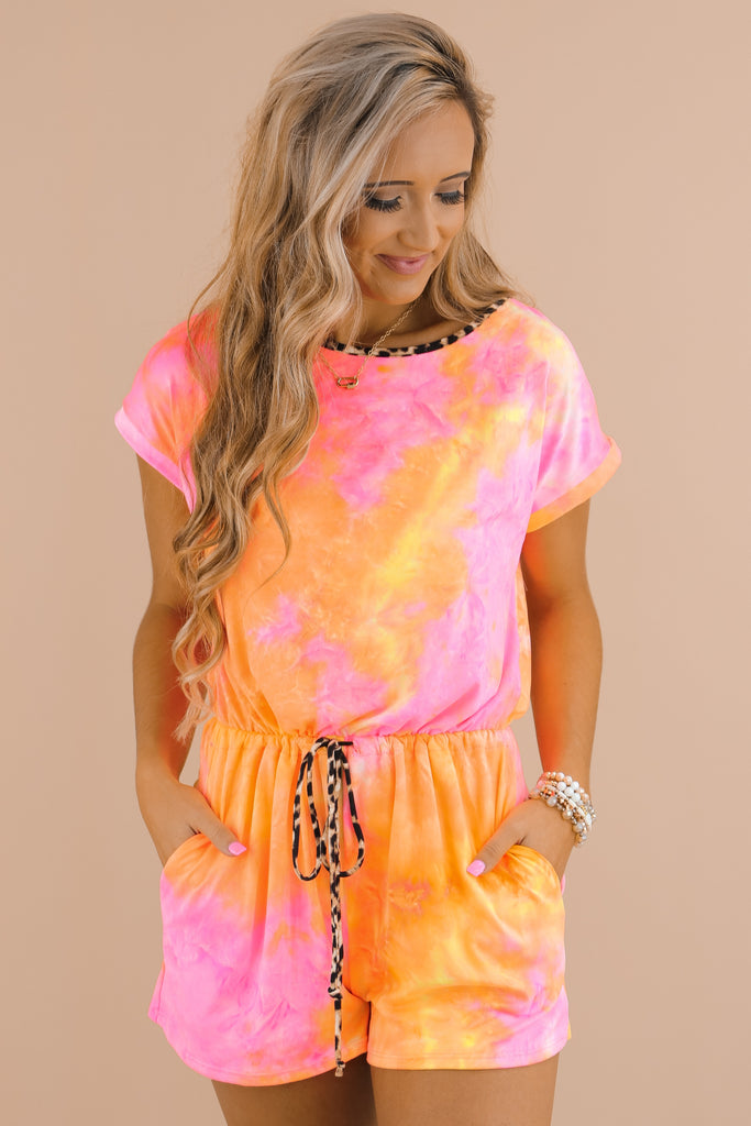 Searching For Perfection Tie Dye Romper