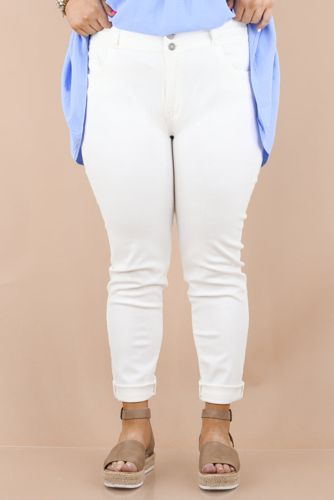 CURVY: Easier Days High Rise Skinny Jeans