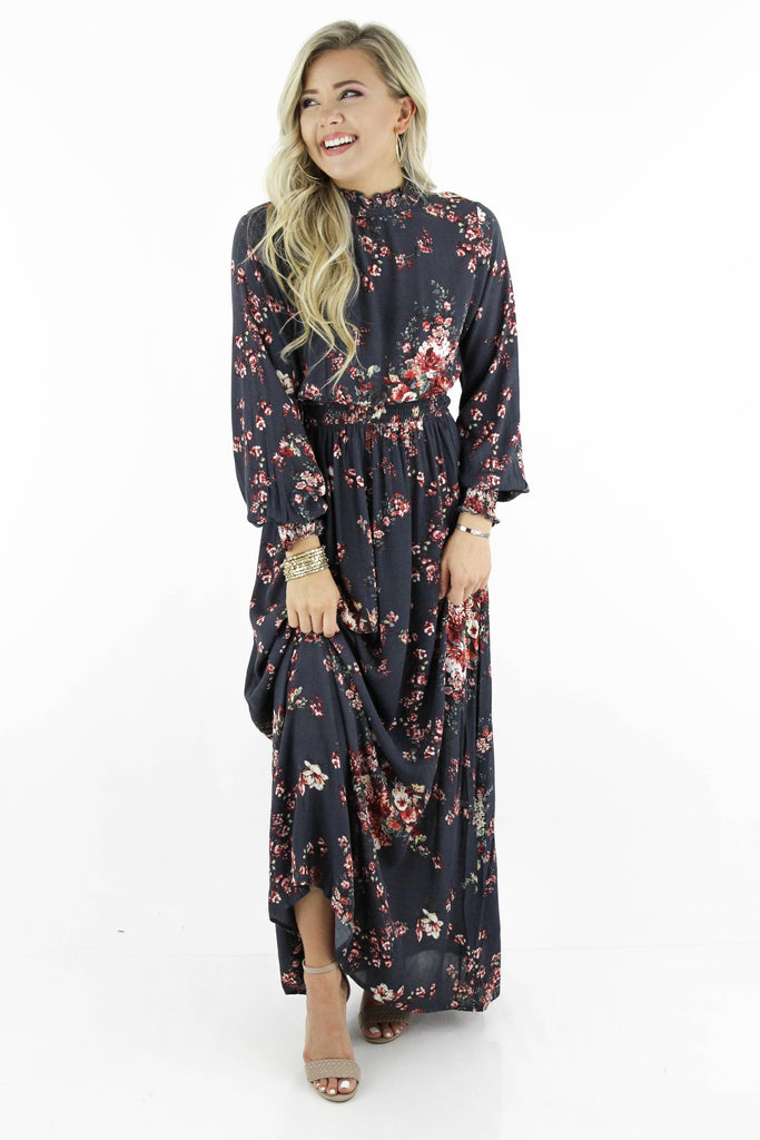 The Look Of Love Floral Maxi Dress