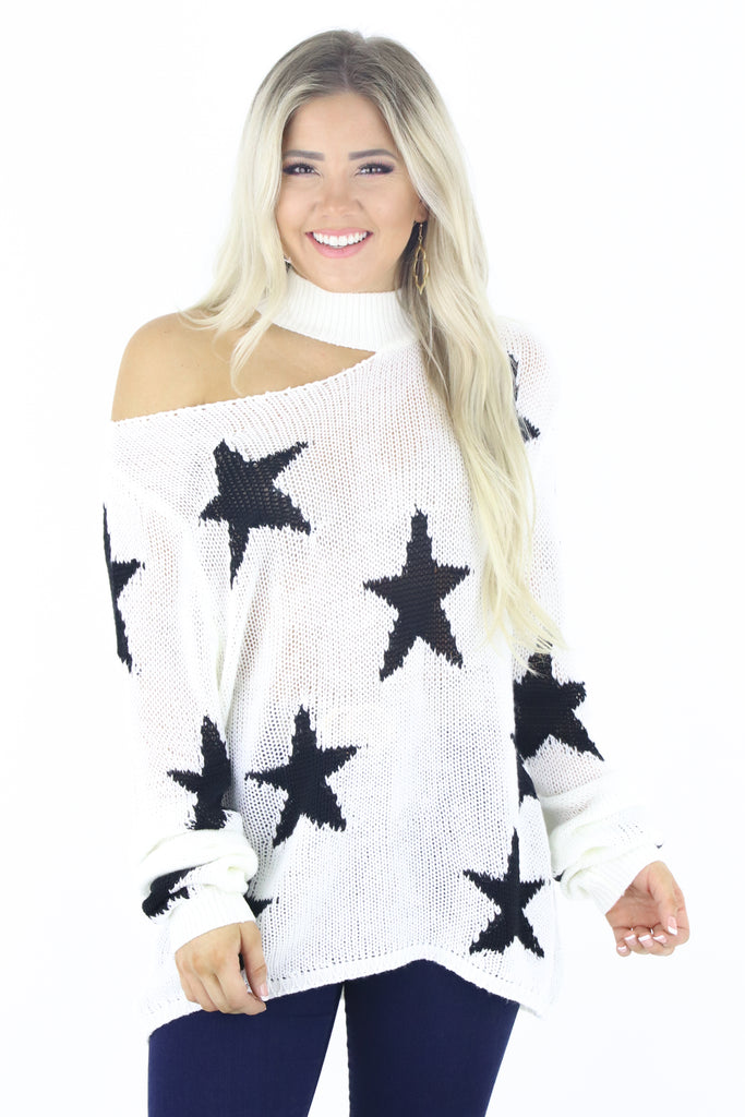 Views of Starry Nights Sweater