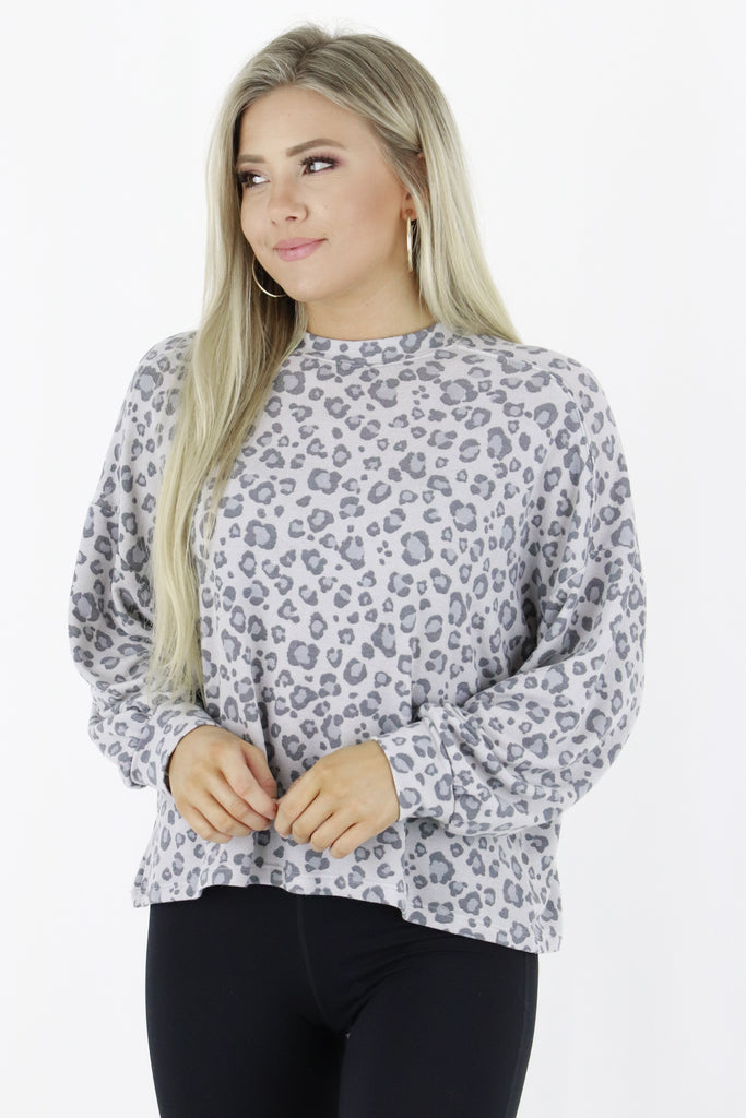 One Last Chance Leopard Top