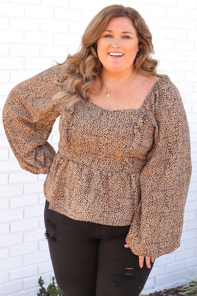 CURVY: Focus On Today Smocked Top