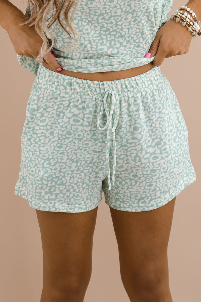 Lose Your Mind Printed Shorts
