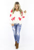 Love Is Here Chenille Sweater