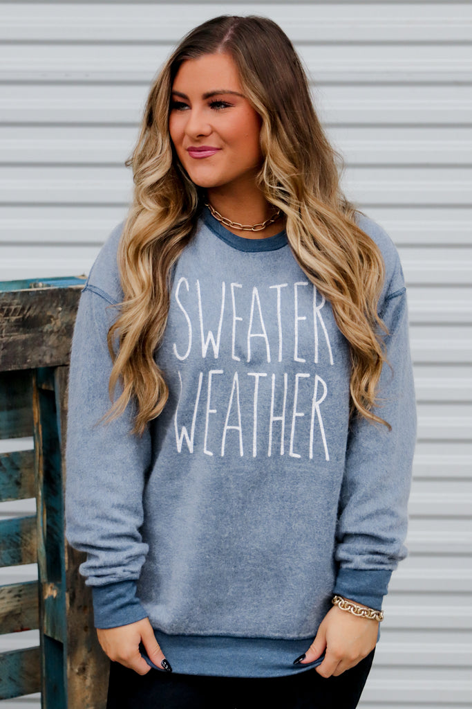 Sweater Weather Inverted Pullover