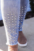 CURVY: Spotted The Perfect Look Rhinestone Skinny Jean
