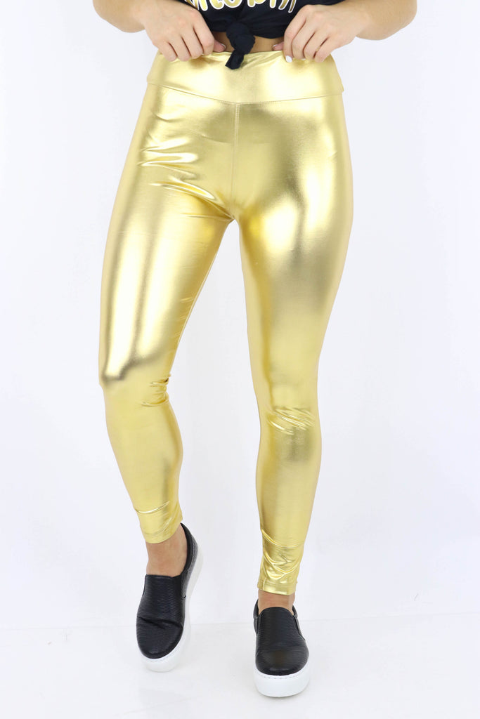 Off I Go Shimmer Leggings