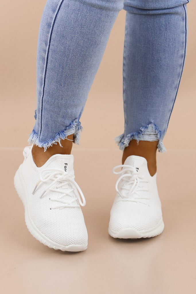 RESTOCK: Get On Your Level Lace Up Sneaker