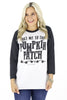Take Me To The Pumpkin Patch Baseball Tee