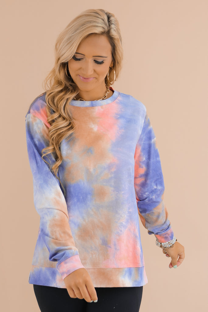 Speak To My Heart Tie Dye Top