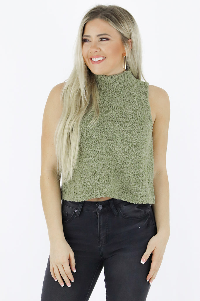 Will You Stay Sweater Top