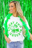 Lucky And Blessed Comfort Colors Graphic Top