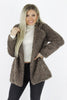 Dine With Me Faux Fur Jacket