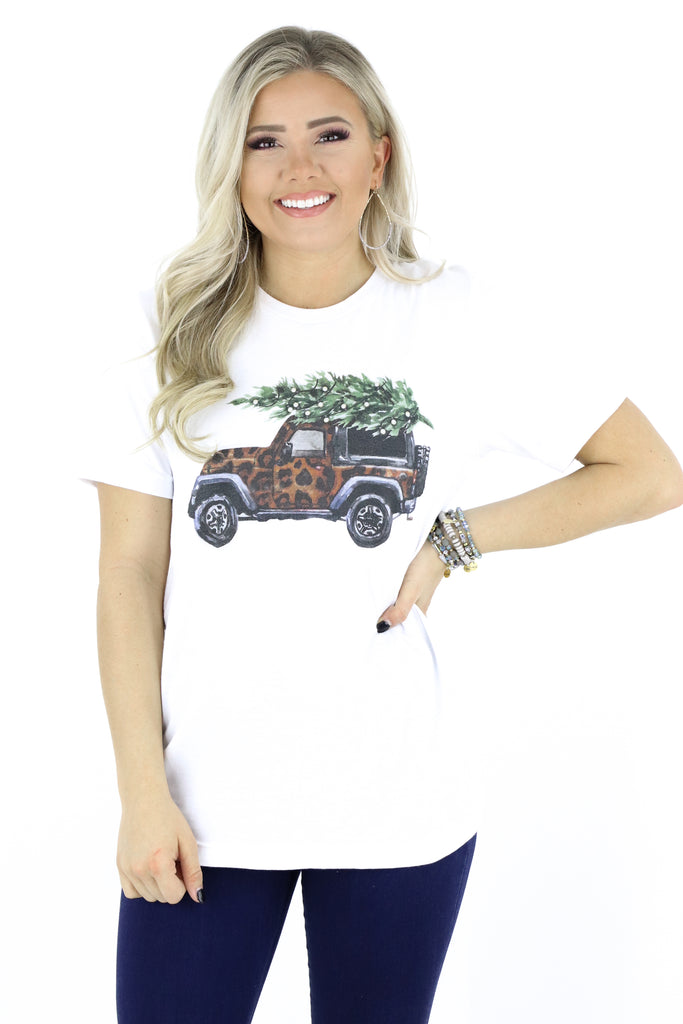 RESTOCK: Christmas Jeepin' Graphic Tee