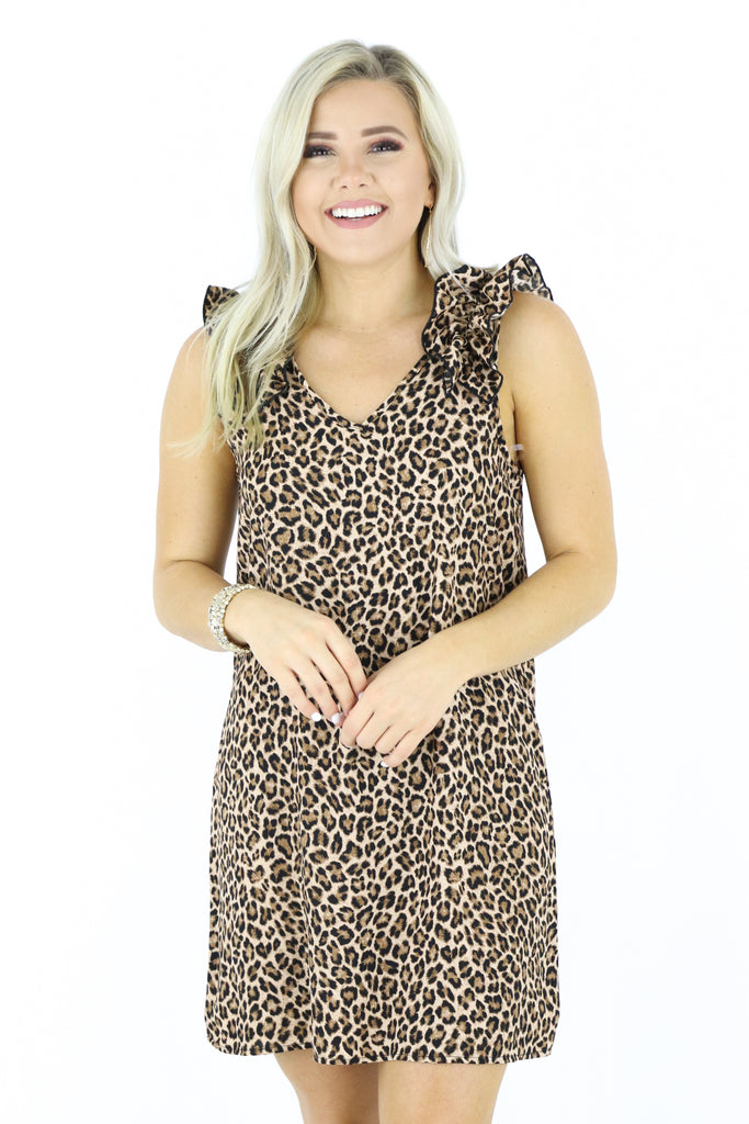 Elevated Love Leopard Dress