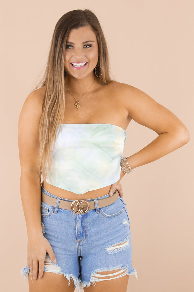 Beyond The Shore Crop Top