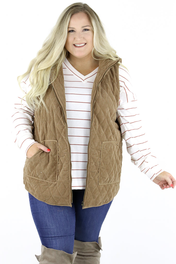 CURVY: Pretty Little Mind Vest
