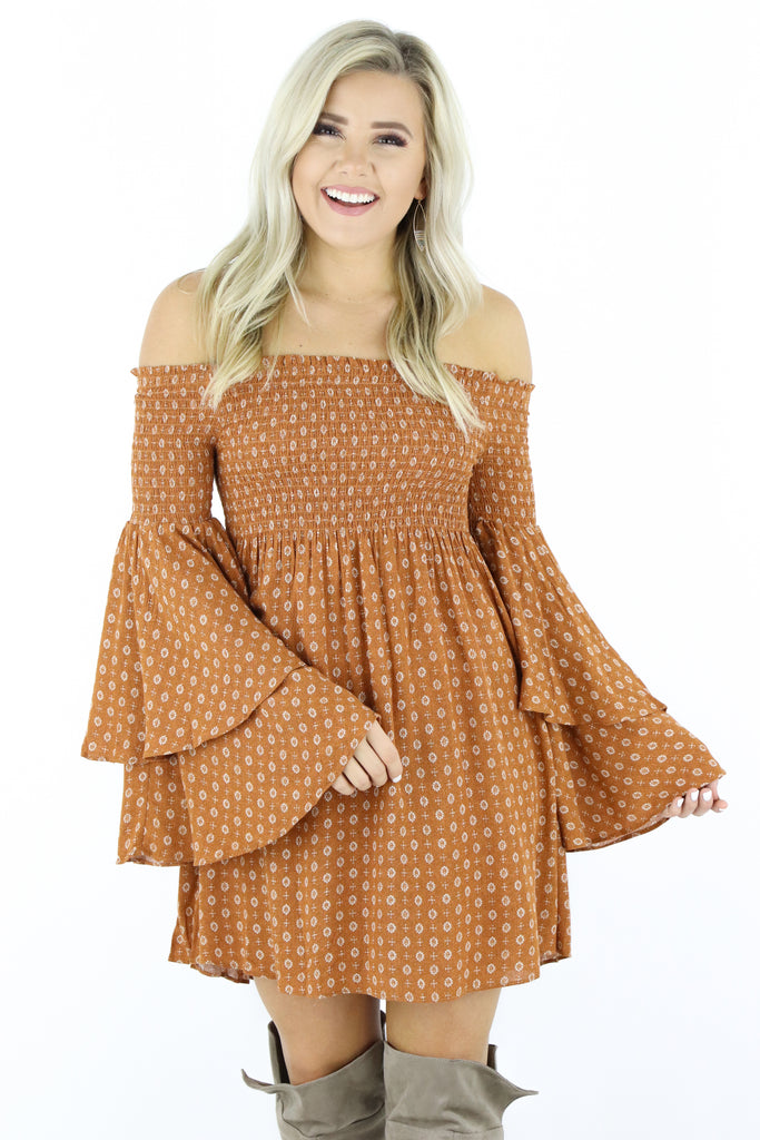 No Guidance Needed Off The Shoulder Dress