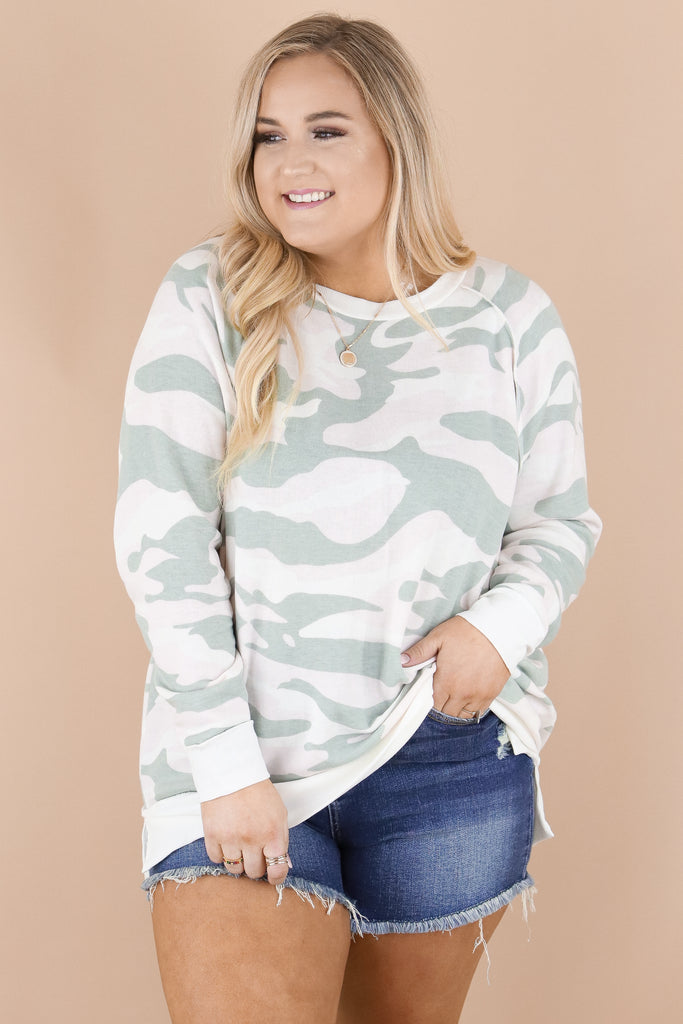 CURVY: Achieve The Most Camouflage Top
