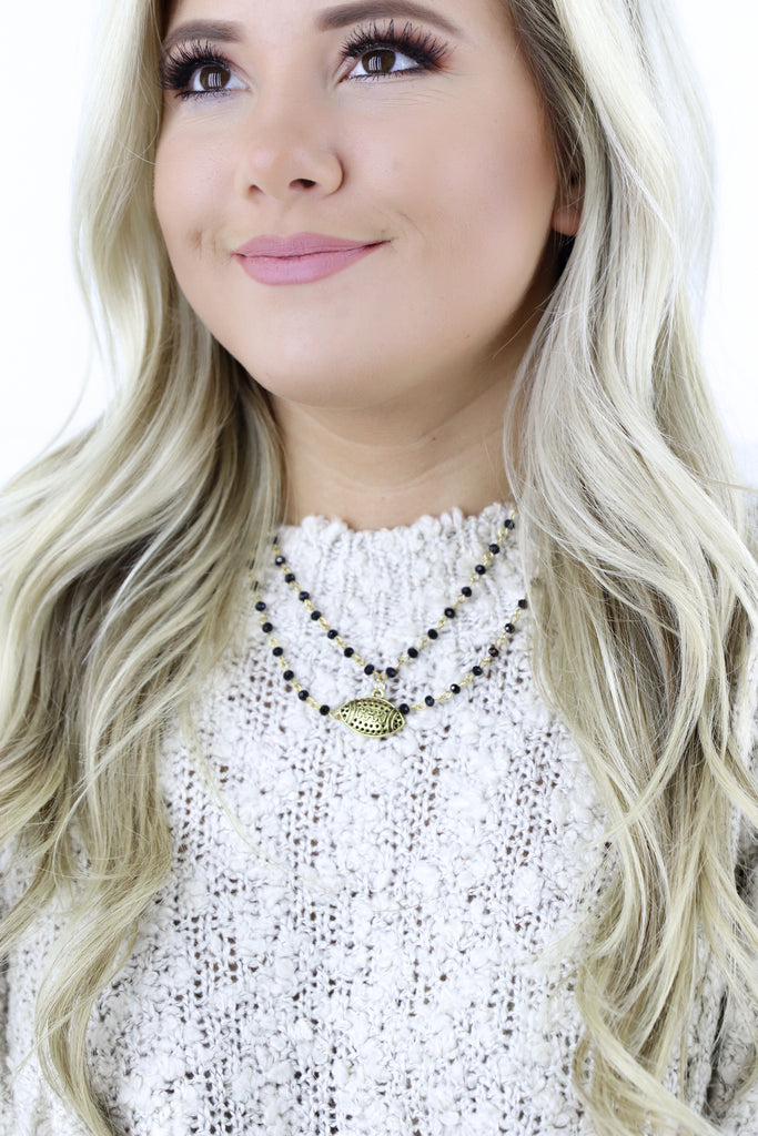 Jennifer Thames Game Day Football Choker
