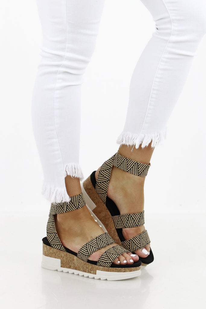 Much To Say Platform Sandals