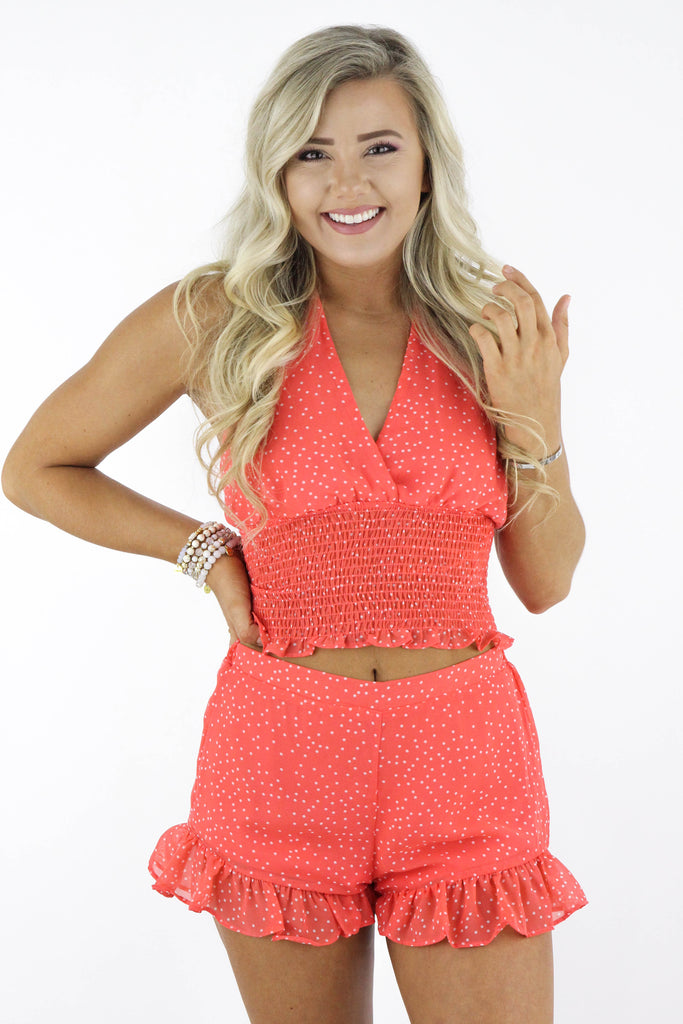 Always Growing Polka Dot Two Piece