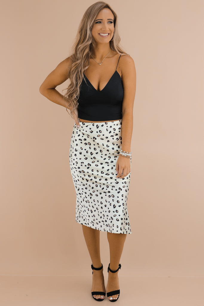 Then There Was You Midi Skirt