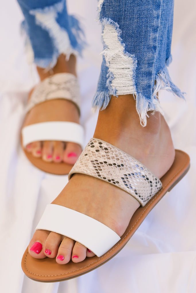 Curious Attraction Sandals