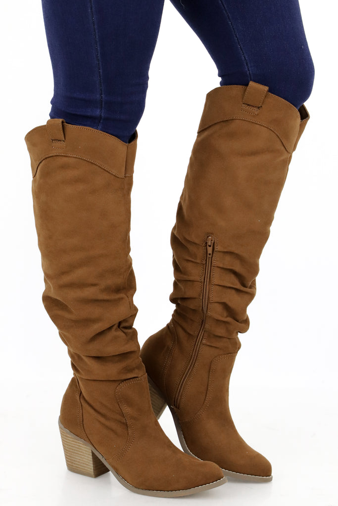 Wonder Through My Heart Knee Boots