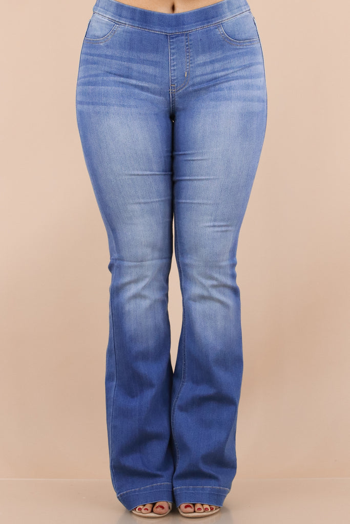 Vintage Vibes Mid Rise Flare Jegging