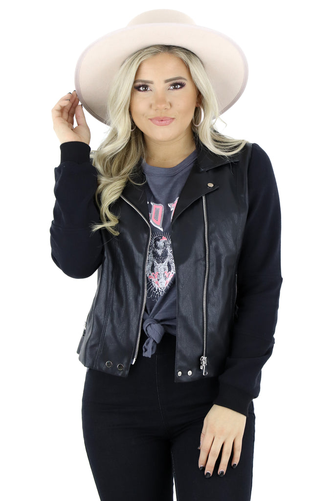 Up All Night Moto Jacket