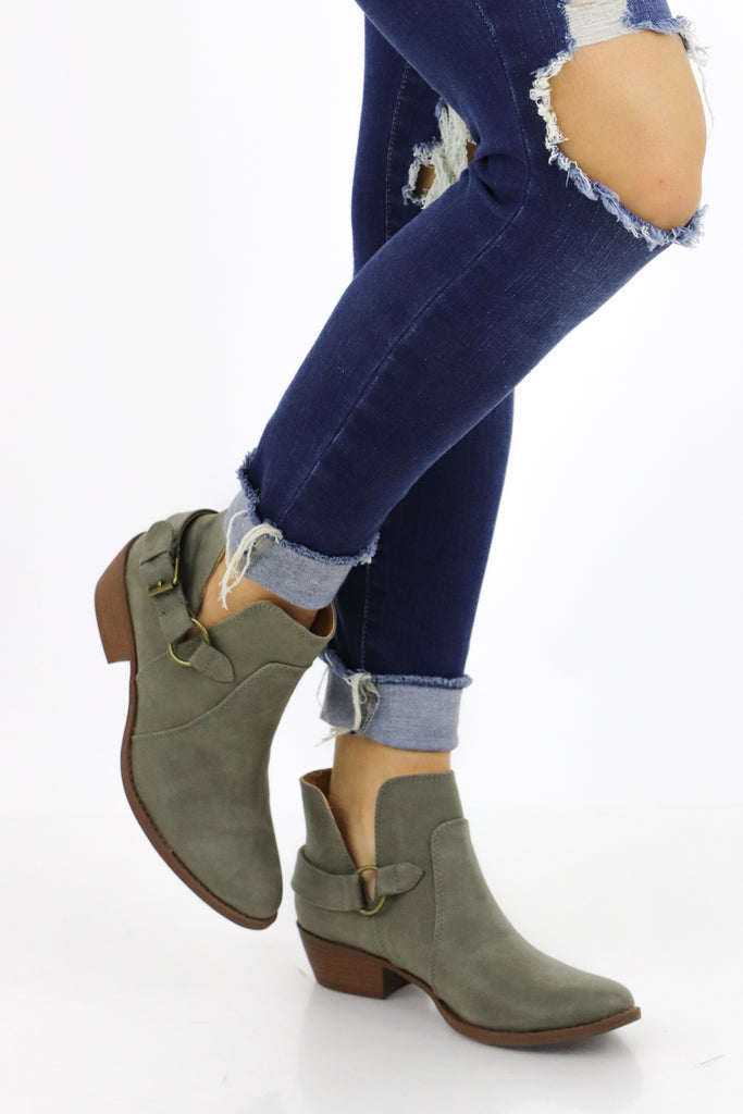 A New Era Ankle Booties