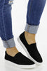 RESTOCK: Going All Over Suede Slip On Sneaker