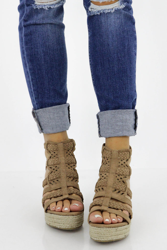 RESTOCK: Have Love Suede Wedge