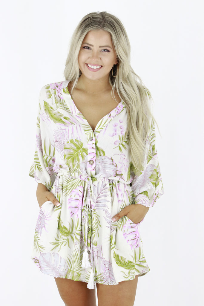 All Your Desires Floral Dress