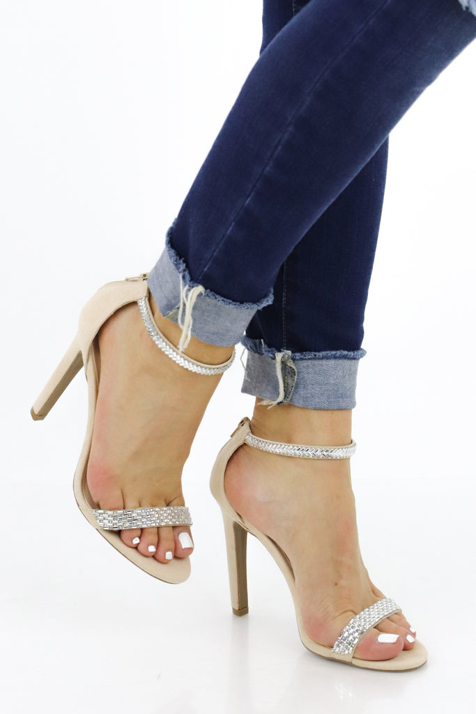 Won't Leave A Trace Strappy Heel