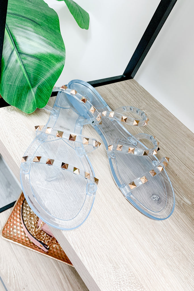 RESTOCK: Be Fearless Rhinestone Sandals