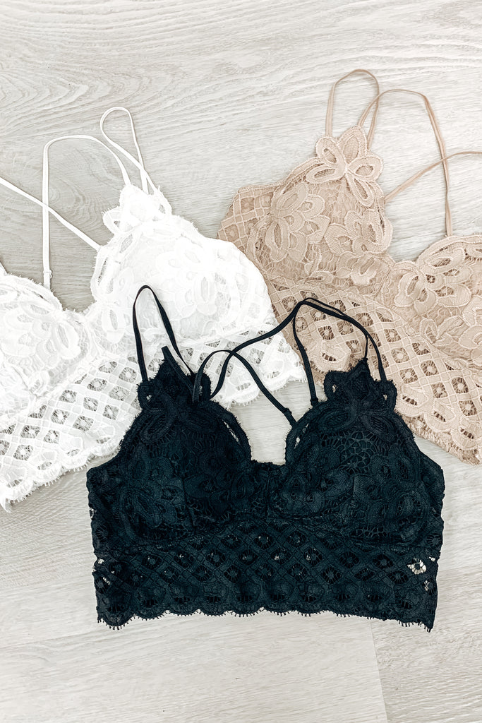 CURVY: We Were Meant To Be Lace Bralette