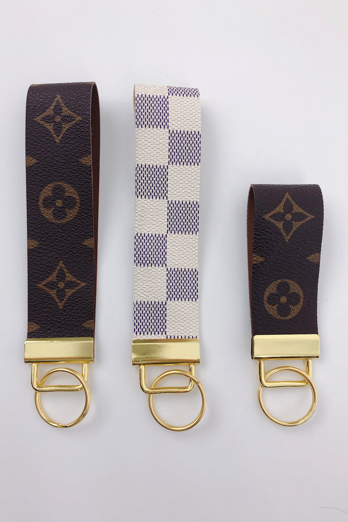 RESTOCK: Re-purposed LV Key Chain