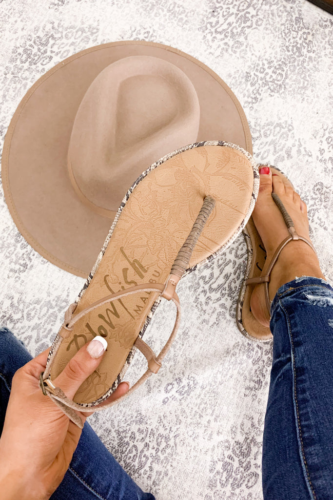 Take Your Breath Away Sandals