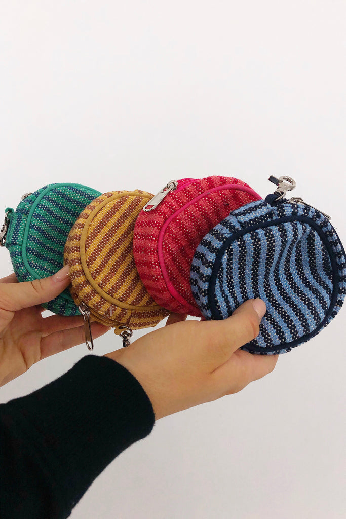 Round Coin Purse: Available in 4 Colors