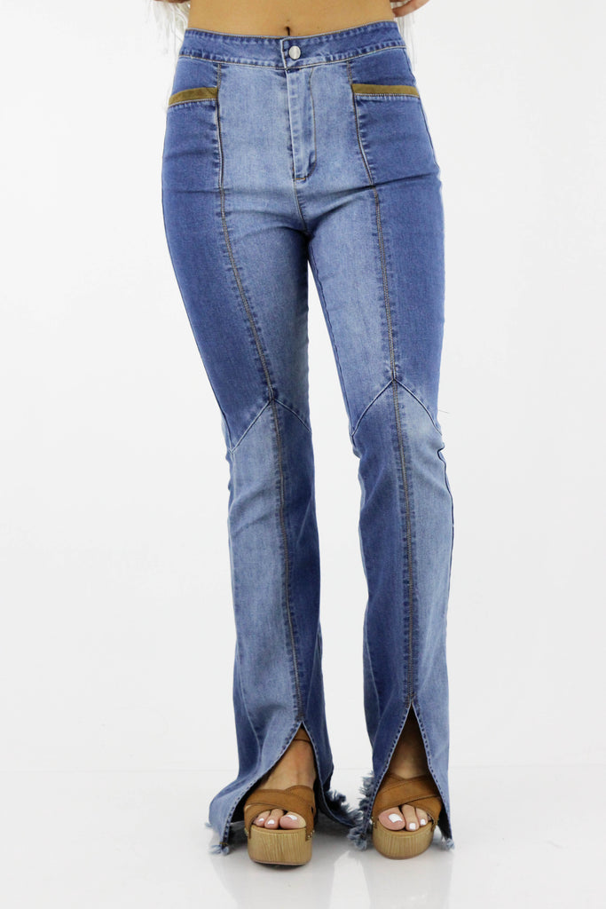 Welcome To Wonderful Bell Bottom Jeans