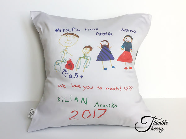 Made By Me Pillow